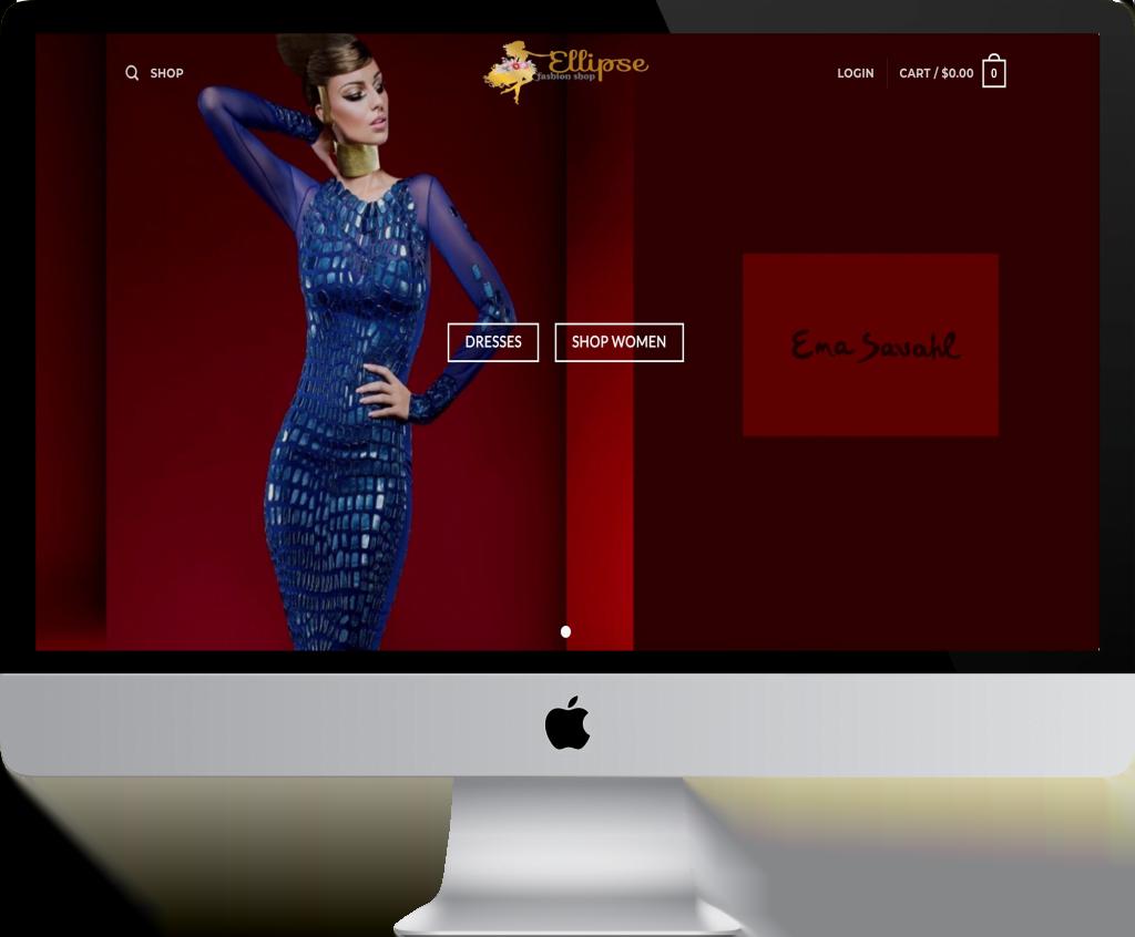 ellipse website by isky creative